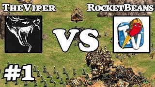 TheViper vs RocketBeansTV | Game 1
