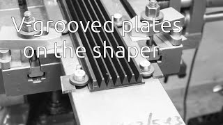 Machining Plastic Parts On The Shaper