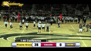 Prairie Grove (42) vs Lincoln (16) 2014