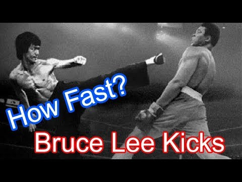 How Fast Is Bruce Lee Kicks?