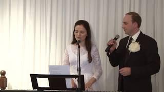 Носили на руках співали колискову  - Свадебная песня (Иван и Оленка Должанский)