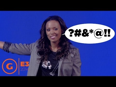 E3 2014 - Aisha Tyler curses like a sailor in her Ubisoft Press Conference speech