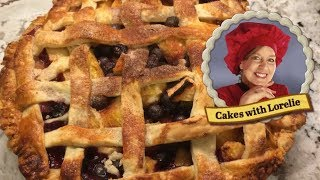 Fruit Pie Recipe Easy 🍒 Scratch With Frozen Fruit 🍒 Cakes With Lorelie
