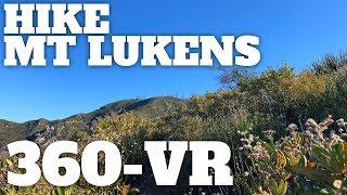 Hike Mt Lukens From Deukmejian Wilderness Park - 360° VR Video