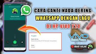 Cara Mengganti Nada Dering WA Dengan Lagu Di HP Vivo Y20...