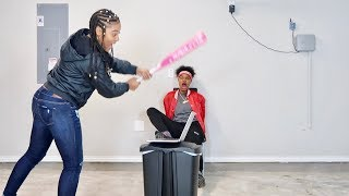 ANGRY GIRLFRIEND DESTROYS MACBOOK PRO!!! (REVENGE PRANK)