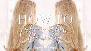 HOW TO FAKE A SALON BLOW DRY AT HOME   Freddy My Love