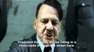Hitler Parody Throwbacks: Hitler Finds Out President Kennedy Has Been Shot!