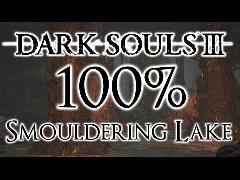 Dark Souls 3 100% Walkthrough #8 Smouldering Lake (All Items & Secrets)