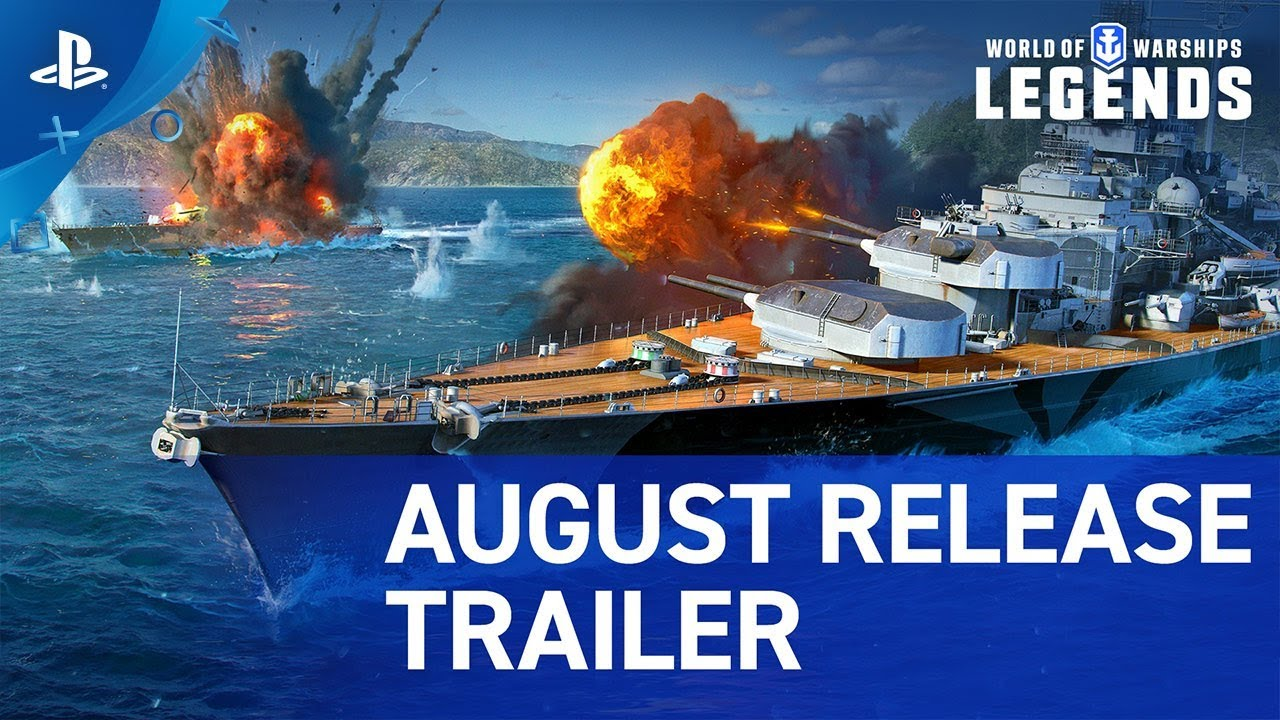 World of Warships: Legends Sale del Acceso Temprano con la Actualización de Hoy