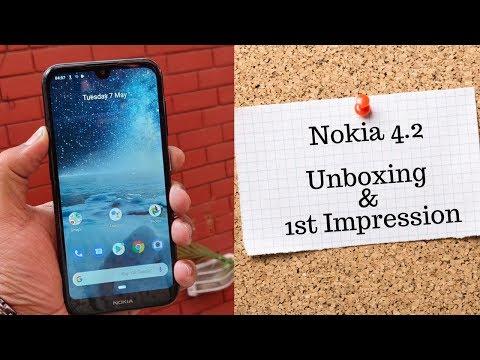 Nokia 4.2 Unboxing & 1st Impression