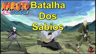 Naruto Online - Batalha Dos Sabios 19/02 (Deu Bom)