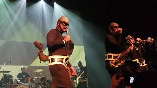 """Attack by snakes!(clip)(2nd show)The Aquabats April 7th 2018 """"The Fury Of The Aquabats"""""""