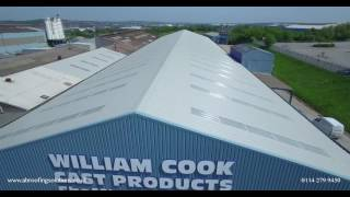 William Cook Castings - new roof by AB Roofing