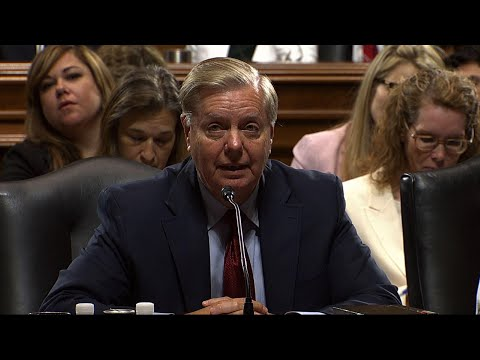 Republicans on the Senate Judiciary Committee advanced a controversial immigration bill Thursday, as chairman Lindsey Graham upended the rules to muscle through the detention bill that Democrats oppose. (Aug. 1)
