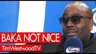 BAKA NOT NICE on No Long Talk, Drake, Giggs, Nipsey Hussle, Smoke Dawg, Toronto - Westwood