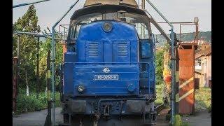 [SHUNTING DUTIES] Moving A Local Train Rake Consisting Of 8 Cars (May 2007, Tirgu Mures)