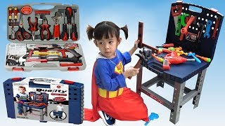 Repair Car Toys For Kids ❤ AnAn ToysReview TV ❤