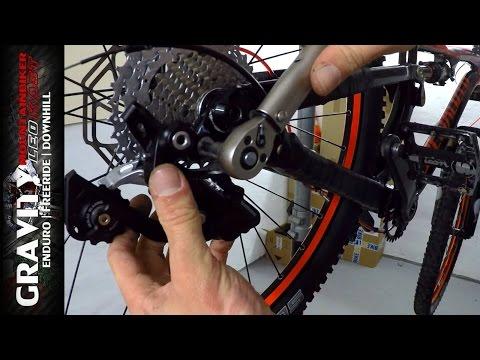 MTB Tutorial #3 (Schaltwerk richtig einstellen | Fahrradkette de-/montieren) Leo Kast