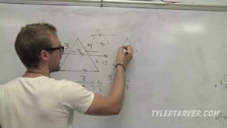 Geometry: 7-4 Applying Properties Of Similar Triangles