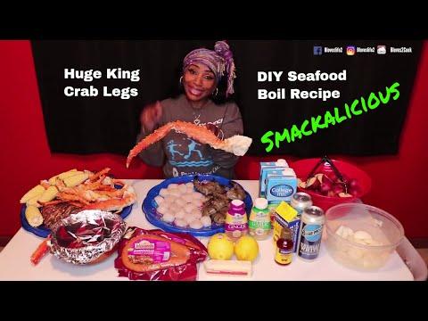 Blove's DIY Smackalicious Seafood Boil Recipe