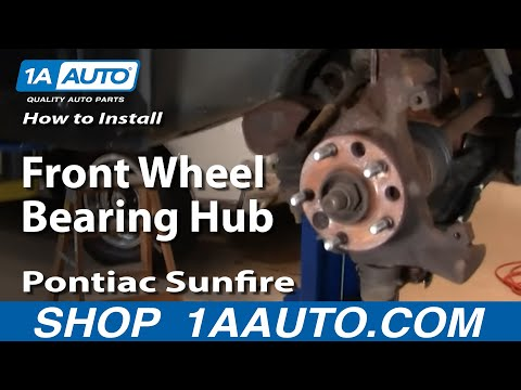 How to Replace Brake & Wheel Bearing Kit 95-05 Pontiac Sunfire