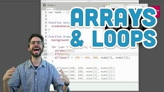Download Youtube: 7.2: Arrays and Loops - p5.js Tutorial
