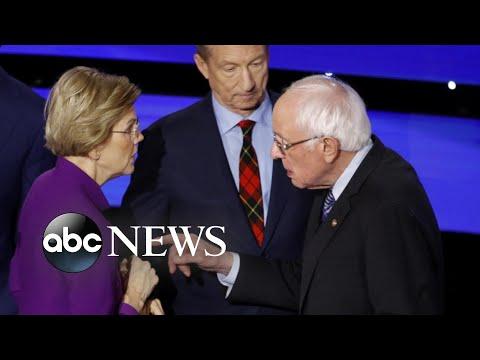 Growing tensions between Warren and Sanders