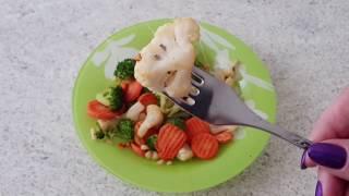 Моя новая аэрофритюрница: пробую готовить овощи.