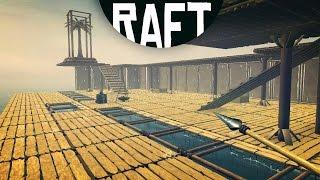 RAFT - THE BIGGEST BUILD IN RAFT HISTORY! (Raft Game / Raft Gameplay)