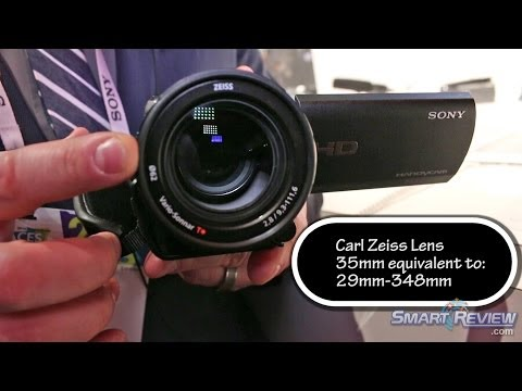CES 2014 | Sony Handycam HDR-CX900 HD Camcorder | WiFi | HDR-CX900/B | Smart Review