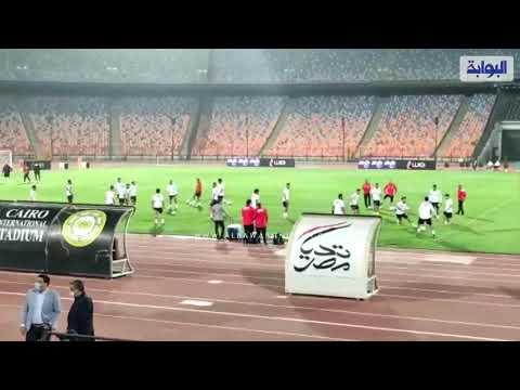 محمد صلاح يقود تدريبات المنتخب في أول مران له بتصفيات أمم أفريقيا