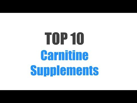 Best Carnitine Supplements - Top 10 Ranked