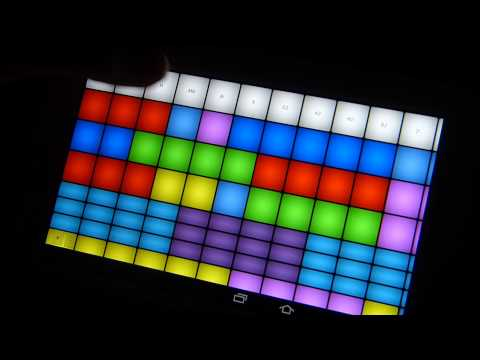 Video of Dubstep DubPad Buttons 1