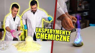 10 NIEZWYKŁYCH EKSPERYMENTÓW CHEMICZNYCH!