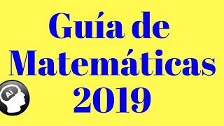 Guía de Matematicas, UNAM 2019, ÁREA 3