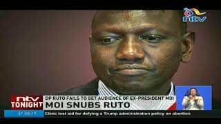 Moi snubs DP Ruto in Kabarak - VIDEO