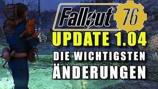 Fallout 76 Das Update 1.04 | Die wichtigsten Änderungen | PS4