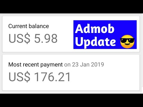 Admob Earning 100$ Pay Day Get Best Cpc Automatically Allow