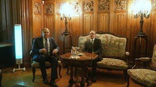Речь министра иностранных дел РА Ара Айвазяна на встрече с министром иностранных дел РФ Сергеем Лавровым