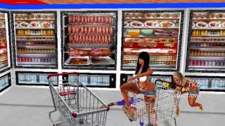 WALMART MR. GHETTO  OFFICIAL IMVU MUSIC VIDEO