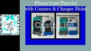 Craft Life Rainbow Loom Phone Case With Camera & Charger Holes ~ Fits IPhone IPod