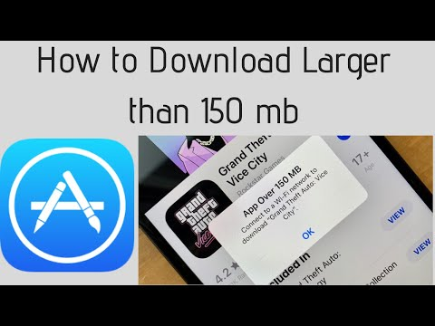 Bypass 150 MB Download Limit in App Store over Cellular Data iOS