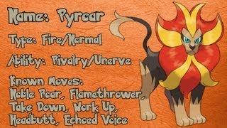 Pyroar  - (Pokémon) - Pokemon X & Y Daily - Day 9: Pyroar!