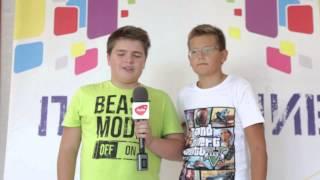 Даниил Слюсарев и Егор Князев