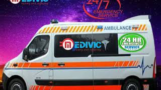 Take ICU Support Ambulance Service in Bokaro by Medivic