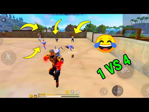 🔥Free Fire Solo Vs Squad Gameplay Factory Fist Fight On Rank Game Factory Ke Upar Fist Fight - PG
