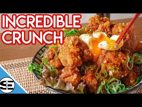 Karaage Don - The ULTIMATE Rice Bowl with UNBELIEVABLE crunch and flavor that you won't believe!