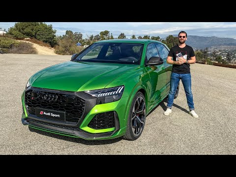 NEW Audi RS Q8 2020 - FIRST LOOK!