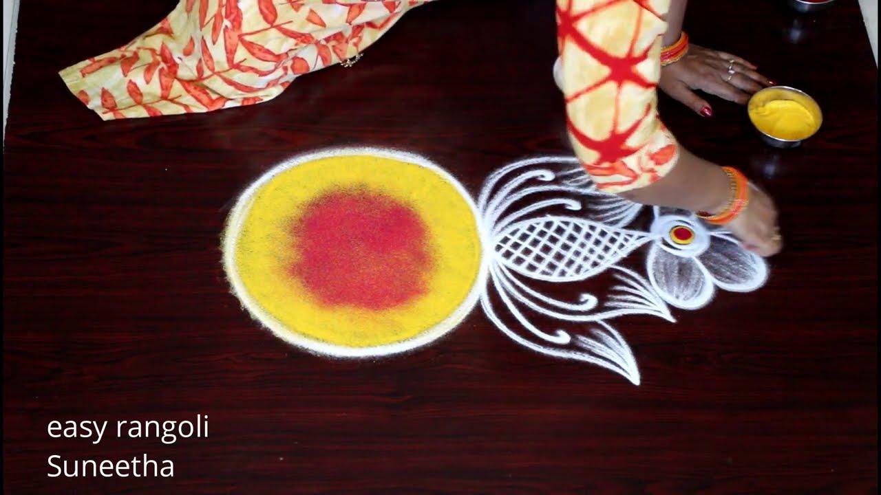 ganesh chathurthi special kolam design by easy rangoli